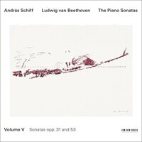 貝多芬鋼琴奏鳴曲集5|鋼琴:席夫 András Schiff / Beethoven: Piano Sonatas Vol.5 (2CD) 【ECM】 0