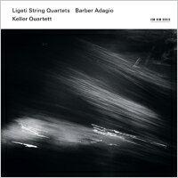 凱勒四重奏:現代之聲 Keller Quartett: György Ligeti - String Quartets / Samuel Barber - Adagio (CD) 【ECM】 - 限時優惠好康折扣