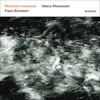 舒伯特:瞬想曲|鋼琴:阿方納西夫 Valery Afanassiev / Franz Schubert: Moments musicaux (CD) 【ECM】 0