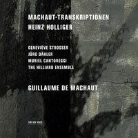 亨氏.霍利格:馬肖轉錄集 Heinz Holliger: Machaut-Transkriptionen (CD) 【ECM】 - 限時優惠好康折扣