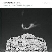 康絲坦提亞.葛魯茲:希臘民琴 Konstantia Gourzi: Music for piano and string quartet (CD) 【ECM】 0