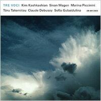 金.卡許卡湘/碧芝莉妮/馬根:三種聲音 Kim Kashkashian / Sivan Magen / Marina Piccinini: Tre Voci (CD) 【ECM】 0