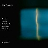 加扎納二重奏:歐洲百年巡禮 Duo Gazzana: Poulenc / Walton / Dallapiccola / Schnittke / Silvestrov (CD) 【ECM】 0