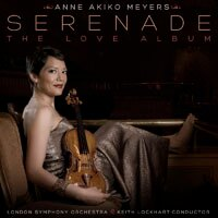 安.梅耶:小夜曲~愛的專輯 Anne Akiko Meyers: Serenade: The Love Album (CD) 【Evosound】 0