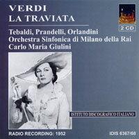 威爾第:歌劇《茶花女》(1952) Verdi: La Traviata (1952) (2CD) 【IDIS】 - 限時優惠好康折扣