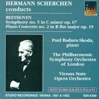 赫曼.謝爾亨指揮貝多芬:第五號交響曲『命運』、第二號鋼琴協奏曲 Hermann Scherchen conducts Beethoven (CD) 【IDIS】 0