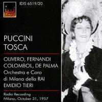 普契尼:歌劇《托斯卡》(1957) Puccini: Tosca (1957) (2CD) 【IDIS】 - 限時優惠好康折扣