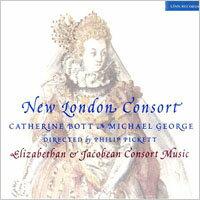 皮凱特指揮新倫敦合奏團:黃金年代的英國音樂 New London Consort: Elizabethan & Jacobean Consort Music (CD) 【LINN】 - 限時優惠好康折扣