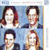 藍教堂四重奏:第一印象 Blue Chamber Quartet: First Impressions (SACD) 【Stockfisch】 0