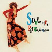 菲爾.伍茲四重奏:紀念物 Phil Woods: Souvenirs (CD) 【Venus】 0