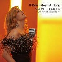 席夢 Simone Kopmajer: It Don't Mean A Thing 〜Live At Heidi's Jazzclub〜 (CD) 【Venus】 - 限時優惠好康折扣