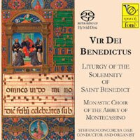 降福經 VIR DEI BENEDICTUS Liturgy of the Solemnity of Saint Benedict (SACD)【fone】 - 限時優惠好康折扣