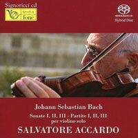 阿卡多與巴哈無伴奏 J.S.Bach: SONATE I,II,III - PARTITE I,II,III per Violino Solo (2SACD)【fone】 - 限時優惠好康折扣