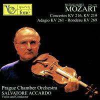 阿卡多&莫札特小提琴協奏曲II Mozart: Concertos KV 216, 219 - Adagio KV 261 - Rondeau KV 269 (CD)【fone】 - 限時優惠好康折扣