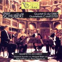 舒伯特:弦樂四重奏 Schubert: Quartet in G, D887 / Quartettssatz in C minor, D703 (CD)【fone】 - 限時優惠好康折扣
