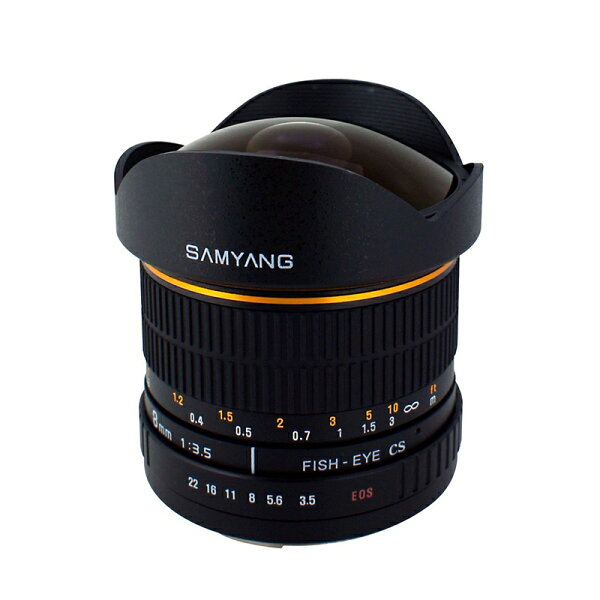 ◎相機專家◎ SAMYANG 8mm F3.5 AE Fisheye for Nikon APS-C 手動鏡 正成公司貨