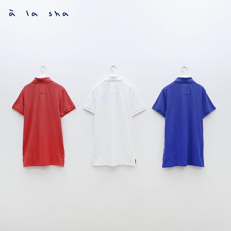 a la sha enco Dreamland印花POLO衫 (男) 4