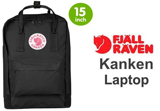 瑞典 FJALLRAVEN KANKEN laptop 15inch 550 Black 黑  小狐狸包 0