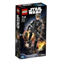 樂高積木LEGO《 LT75119 》STAR WARS 星際大戰系列 - Sergeant Jyn Erso