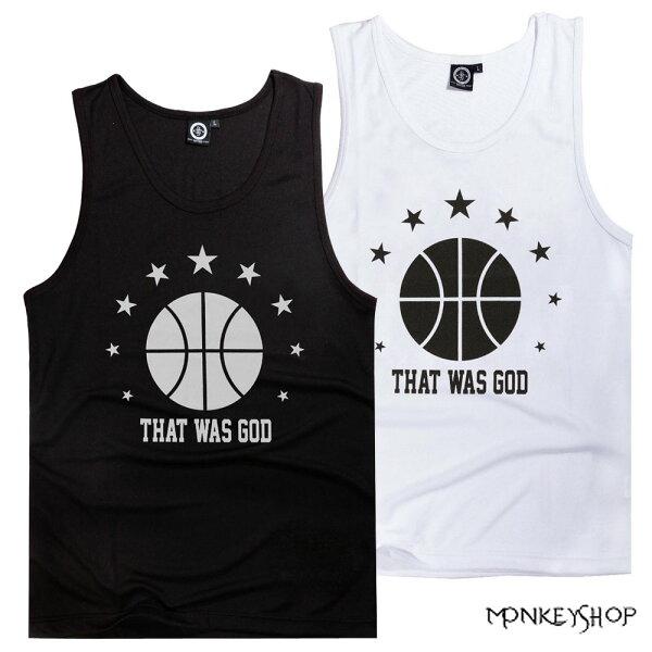 【BSG0726】韓式潮流黑潮運動休閒籃球星星印花網眼球衣背心-2色 《Monkey Shop》