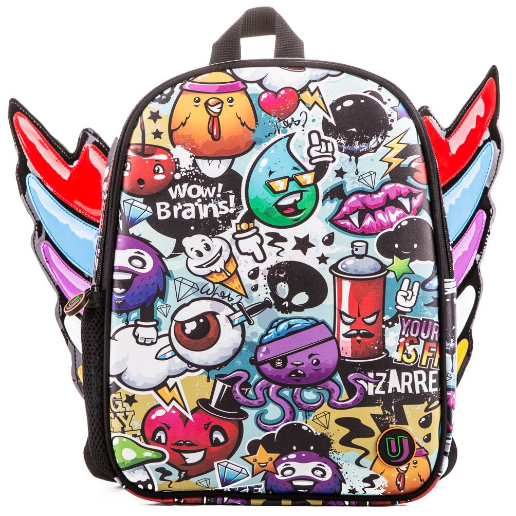 Urban Junk Fly High Junky Mini Backpack (colour wings) 0