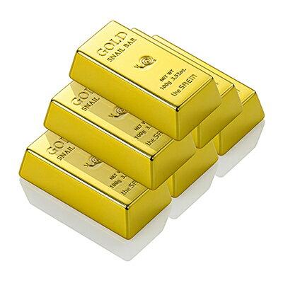 韓國the SAEM 蝸牛黃金洗面皂-100g Gold Snail Bar 【辰湘國際】