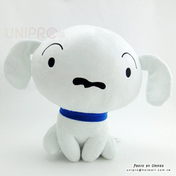 【UNIPRO】經典 蠟筆小新 小白 42公分 絨毛娃娃 玩偶 Crayon Shincha