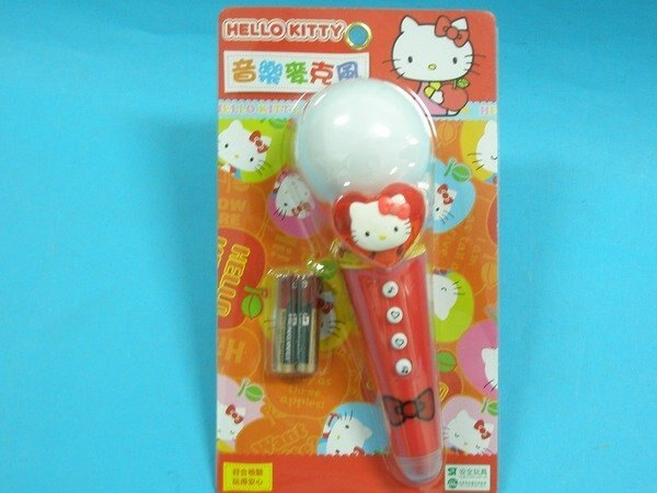 Hello Kitty凱蒂貓 KT音樂麥克風(正版授權/內附電池)/一個入{促199}