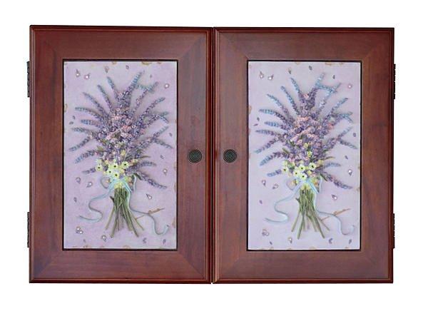 【尚品傢俱】119-03 木質藝術薰衣鎖盒~《台中市部分地區免運費》