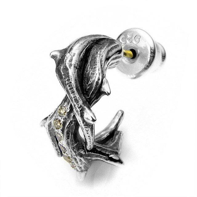【海外訂購】【Bloody Mary】Ramus 荊棘 茶鑽純銀耳環 (BME1215-Brd  0643650000) 0