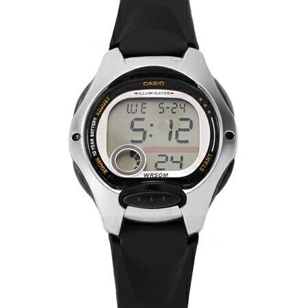 CASIO卡西歐 黑銀配色多 休閒 女腕錶童錶 十年電力系列 柒彩年代~NE1803~ 貨