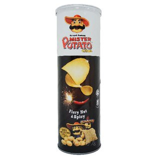 馬來西亞 POTATO 薯片先生洋芋片(勁辣口味) 160g
