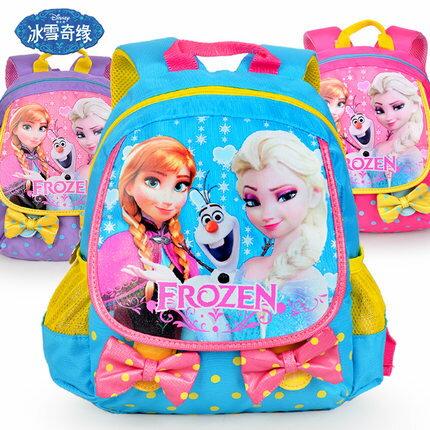 正版Disney 迪士尼冰雪奇緣系列兒童書包 幼兒後背包SP20204