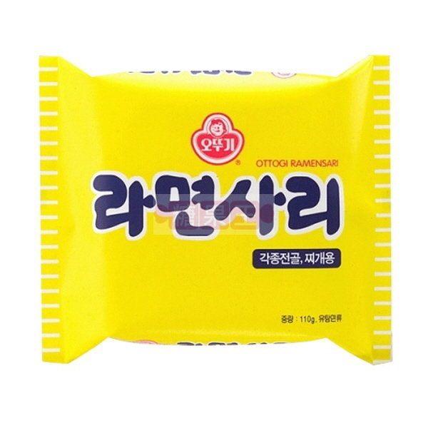 韓國泡麵 奧多吉 拉麵 (無調味包) 內銷版 部隊鍋專用麵條