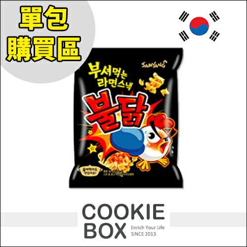 韓國 samyang 辣味雞 科學麵 單包 90g 最新 *餅乾盒子*