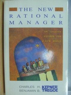 【書寶二手書T1/財經企管_XGV】The New Rational Manager_1997年