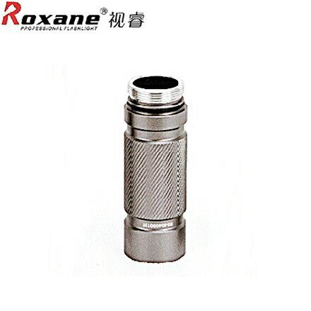 又敗家@Roxane K66手電筒用延長管K66加長管(加長後可多裝電池,讓強光手電筒更爆亮且可做隨身防衛防暴棒防盗及汔車上)