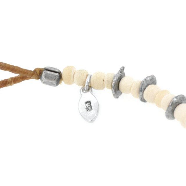 【海外訂購】【amp japan】微笑銅幣椰珠手環-白 (AMP-14AHK-401-White) 1
