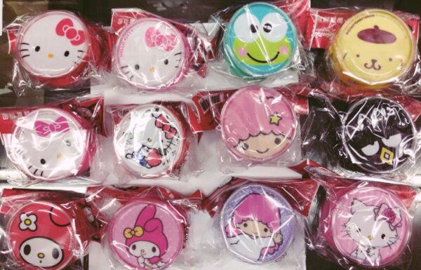 【真愛日本】15111400019小圓零錢置物包-多款  三麗鷗  零錢包  收納包  多款 隨機出貨