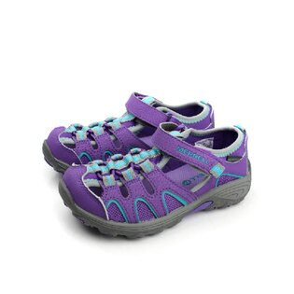 MERRELL 涼鞋 紫 中童 no037