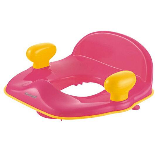 Richell利其爾 - Pottis 椅子型便器輔助便座 (桃黃) 2