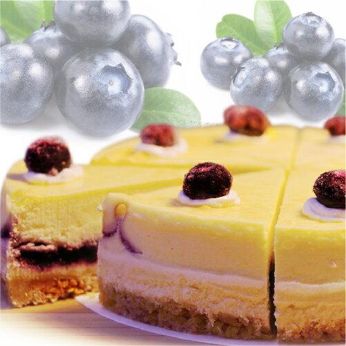(免運)【阿妮琪烘焙屋】藍莓重乳酪蛋糕-6吋(蛋奶素) ❤不露餡兒的好滋味❤ #新鮮藍莓熬煮的內餡(非罐頭果醬,無添加色素,香精),減糖更健康#