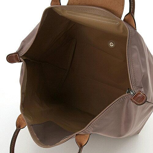 [1623-M號]國外Outlet代購正品 法國巴黎 Longchamp  短柄 購物袋防水尼龍手提肩背水餃包 香檳金 2