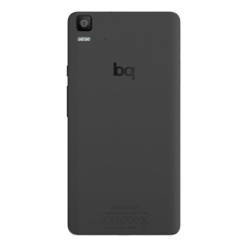 BQ AQUARIS E5 4G 16GB NEGRO - SMARTPHONE LIBRE 1