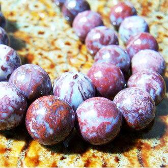 [鷄血瑪瑙]天然寶石 12mm圓形珠 diy飾品散珠 1