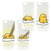 【Sanrio】iPhone 6 蛋黃哥彩繪透明保護軟套-餐桌系列