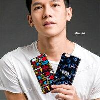 【Star Wars 】iPhone 6/6s 星際大戰 高質感皮革彩繪背蓋保護殼-亂花款