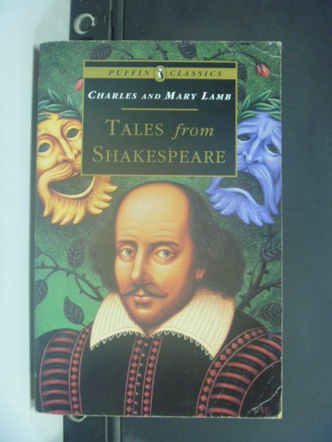 ~書寶 書T1/原文小說_GPQ~Tales from Shakespeare_Charl