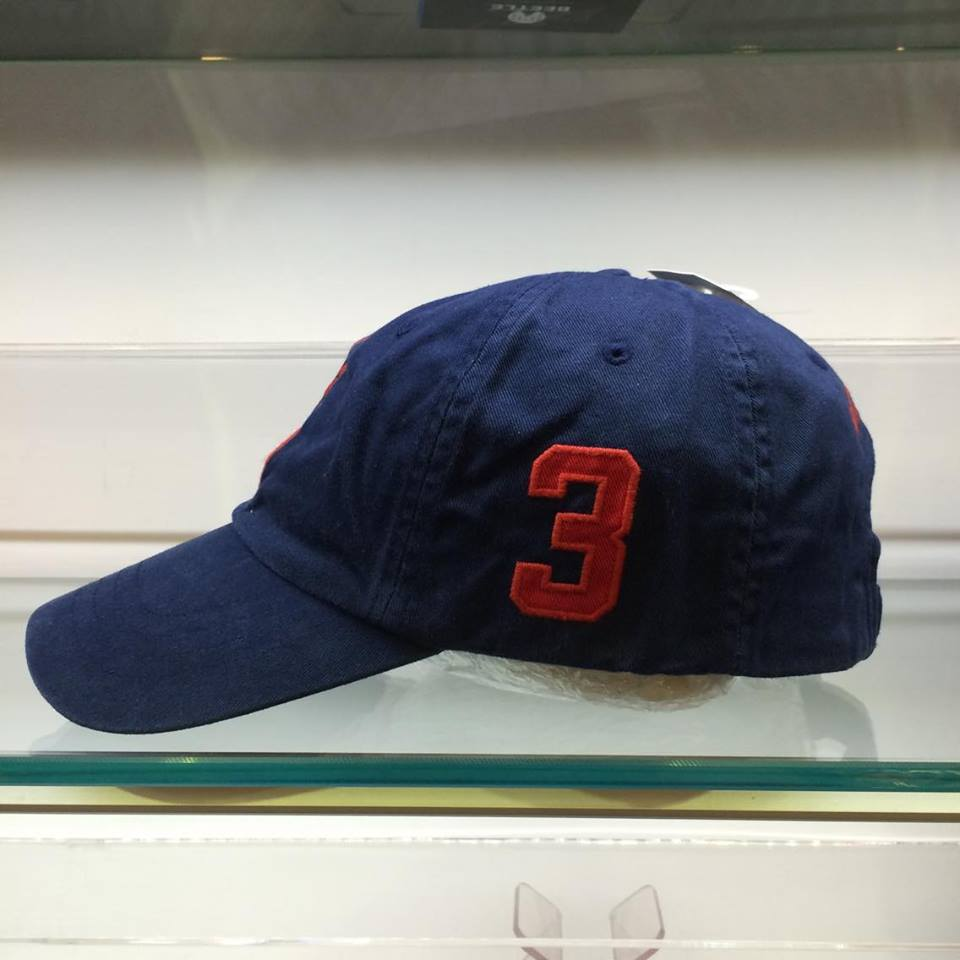 BEETLE POLO RALPH BASEBALL CAP 深藍 藍紅 馬球 LOGO 可調式 老帽 棒球帽 MN-385 1