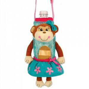 美國【Stephen Joseph】兒童造型水壺袋(美女小猴) 0